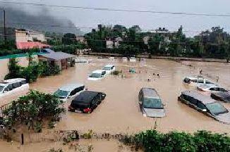 भारतको उत्तराखण्डमा पनि वर्षा र बाढी, १६ जनाको मृत्यु