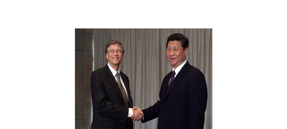बिल गेट्सलाई चिनियाँ राष्ट्रपतिको पत्र